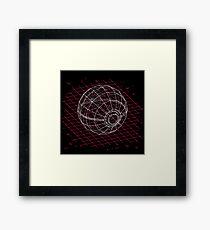 Digital Pokeball Framed Print