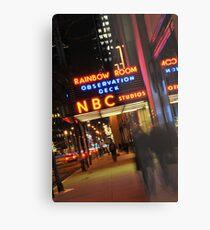 Saturday Night Live - NBC Studios Metal Print