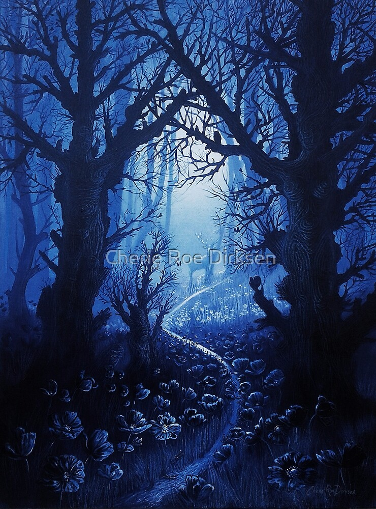 Woodland Stream Gathering by Cherie Roe Dirksen