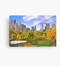 Wolllman Rink, Central Park - New York Canvas Print