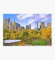 Wolllman Rink, Central Park - New York Photographic Print