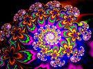 Floral pschycodelia by inkedsandra