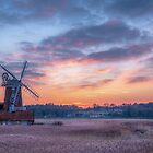 Cley next the Sea Sunset by Jim Key