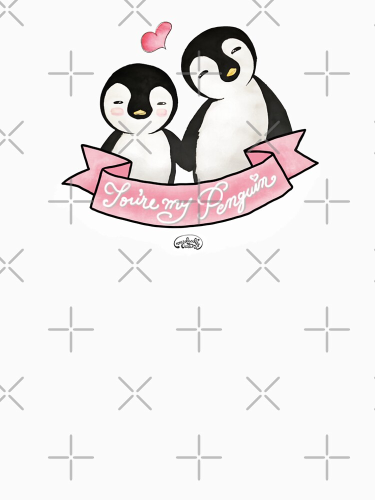 You are my Penguin - When Penguins are in Love by mydoodlesateme