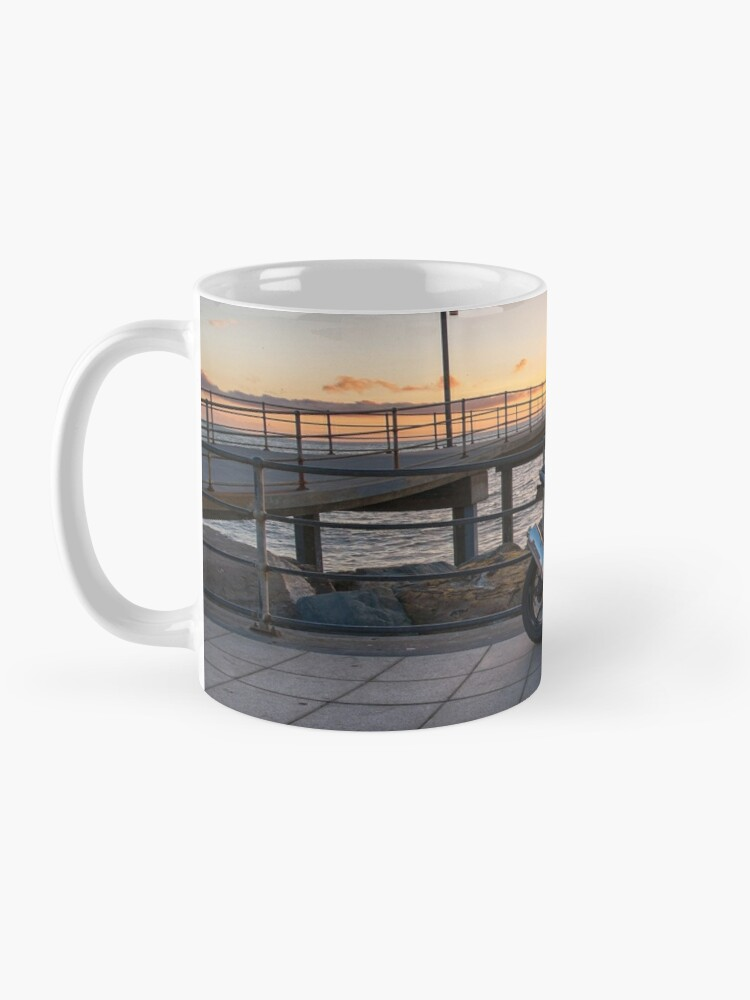 Alternate view of Sunset Ride II Mug