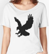 American Eagle Emblem Silhouette Women's Relaxed Fit T-Shirt
