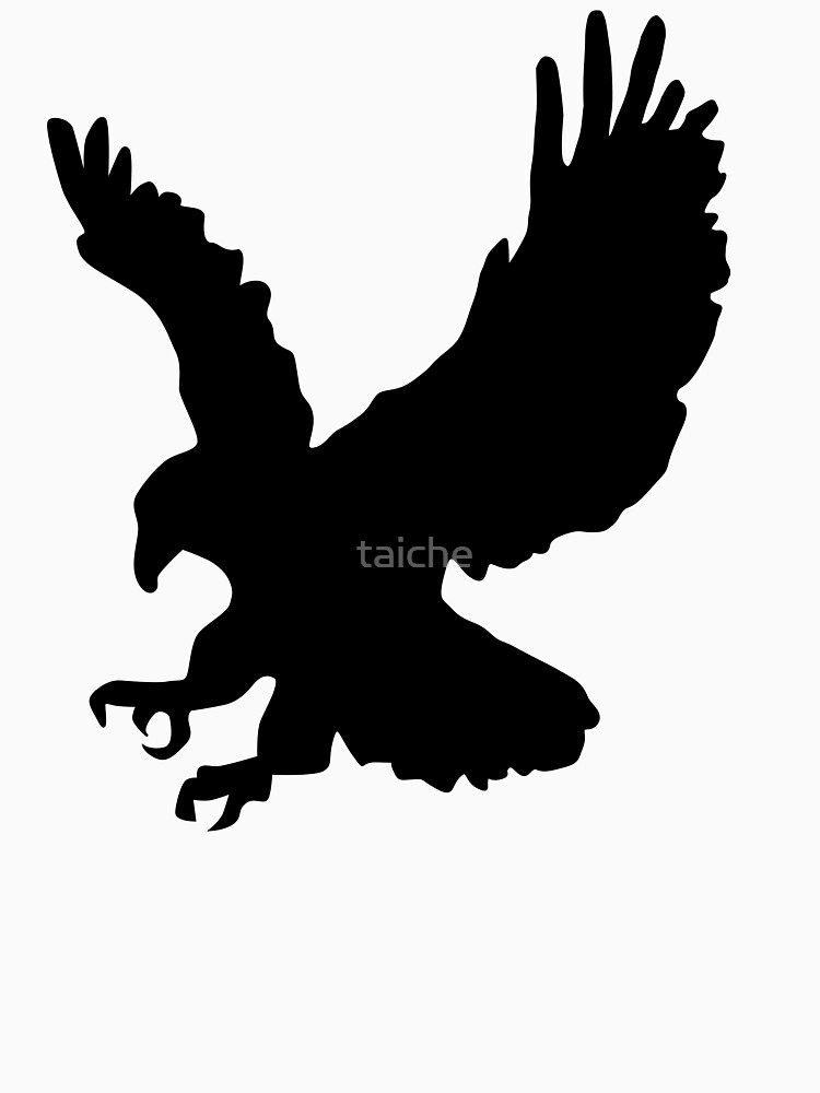 American Eagle Emblem Silhouette by taiche