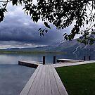 Evening Silence, Linnet Lake by Jann Ashworth