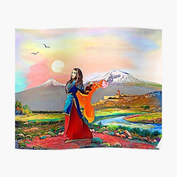 Colors of Armenia Հայաստանի գույները Poster