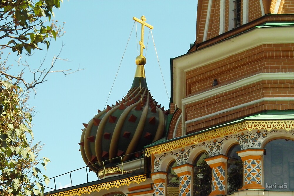 Onion Dome in Moscow  by karina5