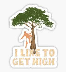 Arborist Pun Tree Surgeon Chainsaw Lumberjack Sticker