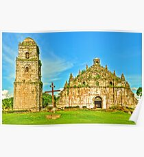 St. Augustine Church - A UNESCO World Heritage Site Poster