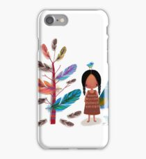 The Feather Tree iPhone Case/Skin