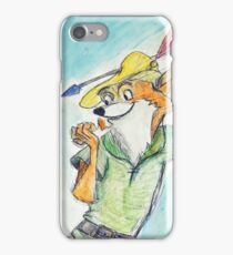 Cartoon Robin Hood  iPhone Case/Skin
