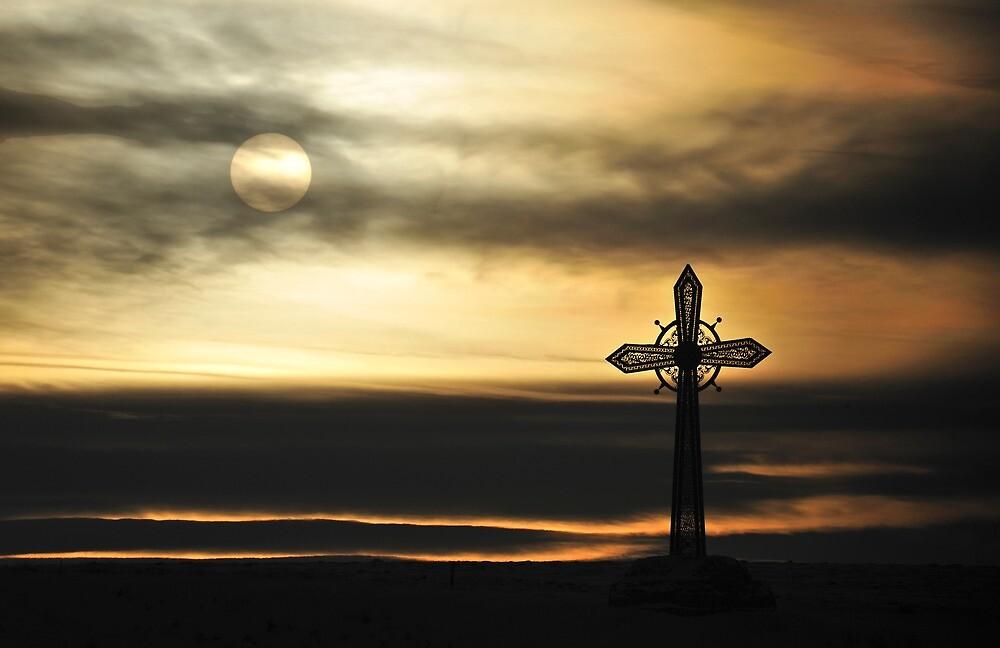 Cross on the Hill by Kasia Nowak