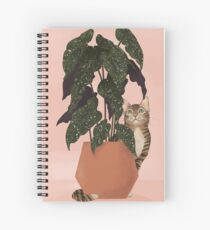 tiger at heart Spiral Notebook