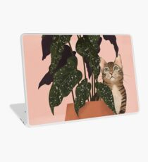 tiger at heart Laptop Skin