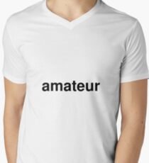 amateur Men's V-Neck T-Shirt