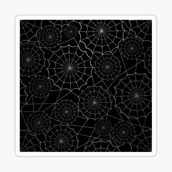 Spider Webs Sticker