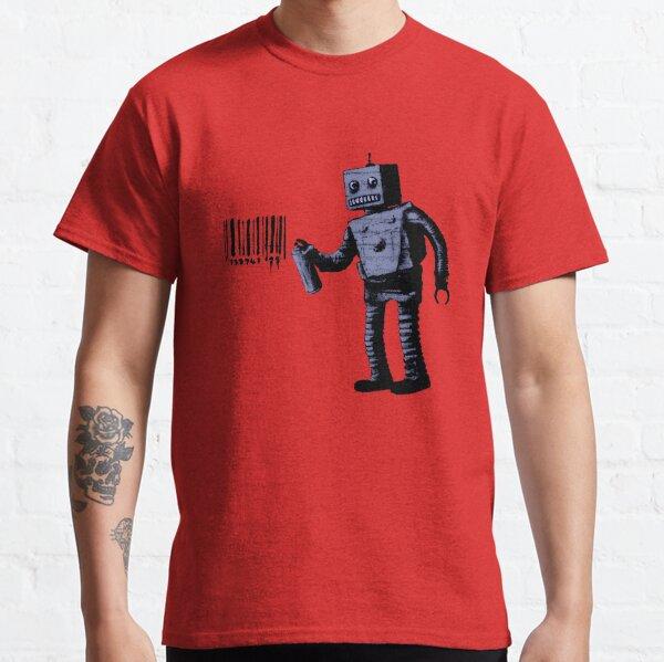 Tagging Robot Classic T-Shirt