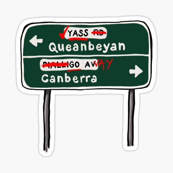 YASS Queanbeyan Sticker