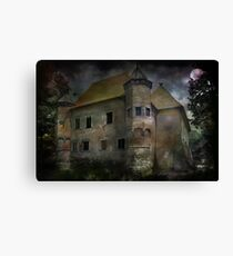 Castle in Dębno .... Canvas Print