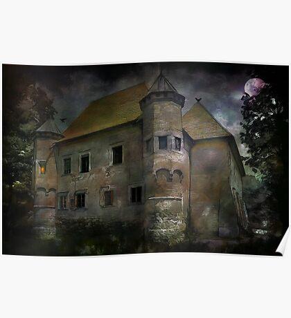 Castle in Dębno .... Poster