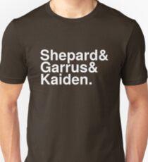 Mass Effect Names - 3 Unisex T-Shirt