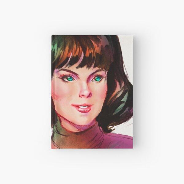 Teal Eyes Hardcover Journal