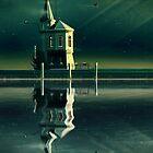 Castle in the Water by schwebewesen