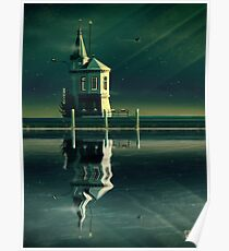 Castle in the Water Poster