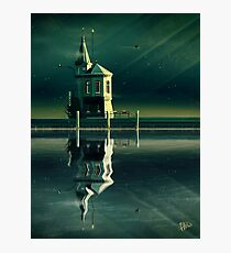 Castle in the Water Photographic Print