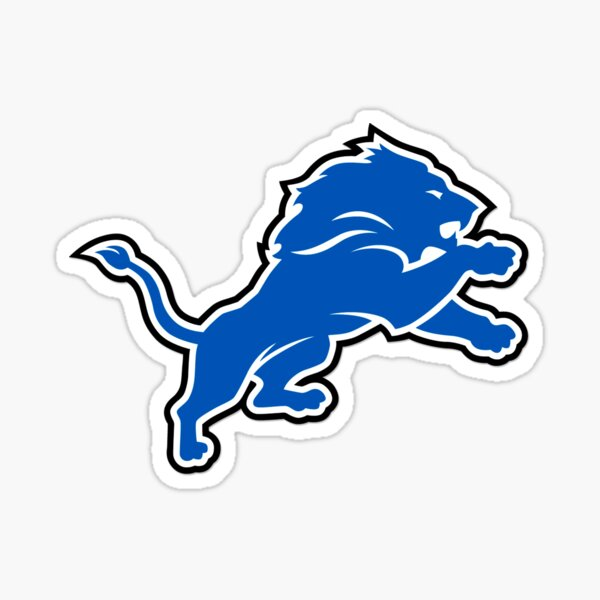 blue lions Sticker