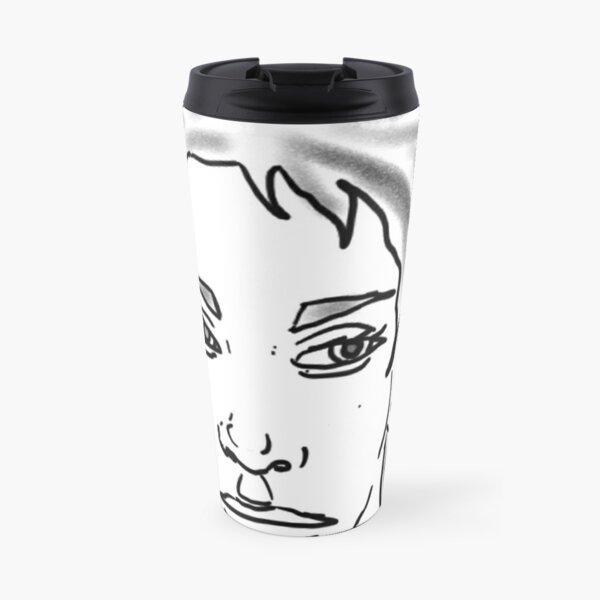 Girl sketch Travel Mug