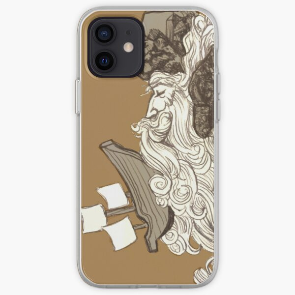 Ship on a Wave iPhone Soft Case