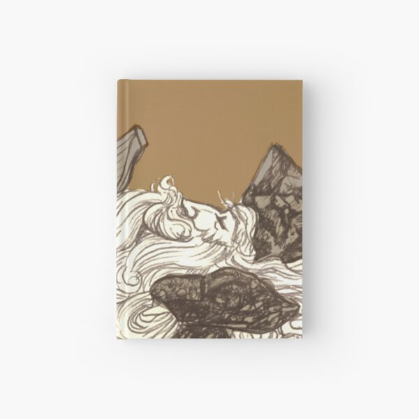 Ship on a Wave Hardcover Journal