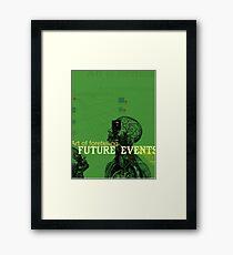 The Art of Foretelling  Framed Print