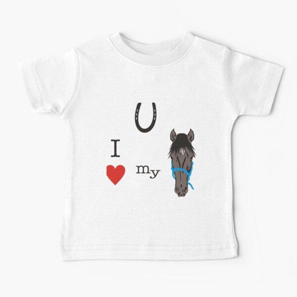 I heart my horse Baby T-Shirt