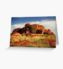Devils Marbles Greeting Card