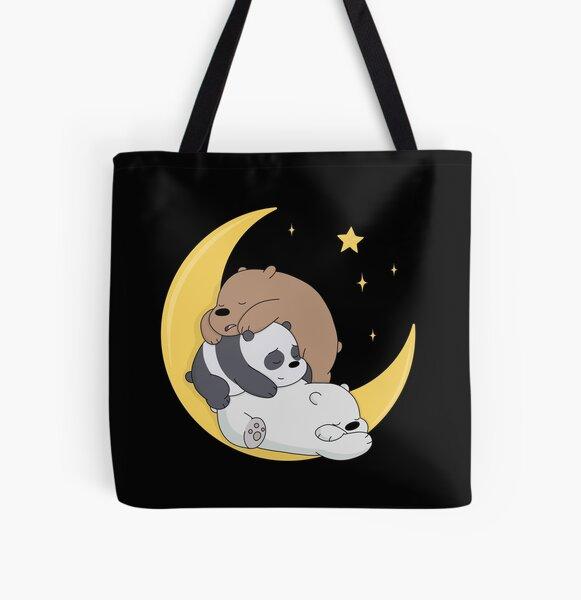 We Bare Bears All Over Print Tote Bag