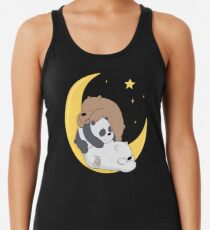 We Bare Bears Racerback Tank Top