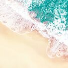 Teal and Peachy | Aerial Beach  by The-Drone-Man
