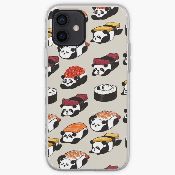 SUSHI PANDA iPhone Soft Case