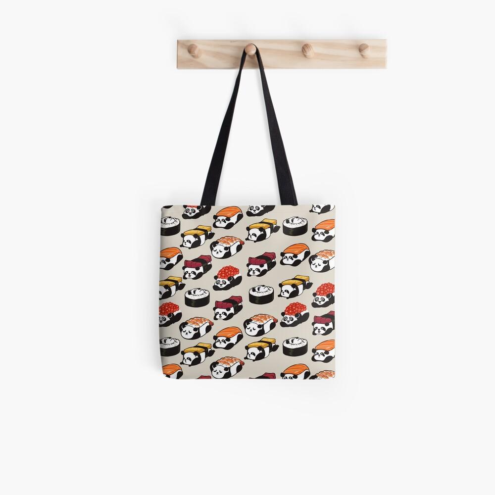 SUSHI PANDA Tote Bag