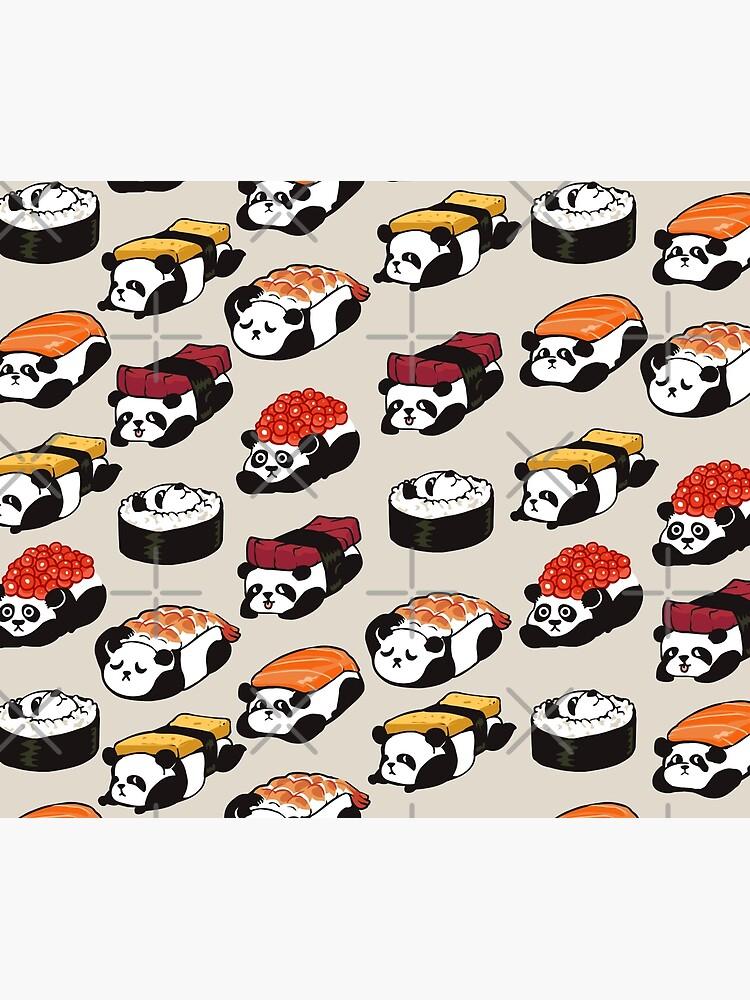 SUSHI PANDA by Huebucket