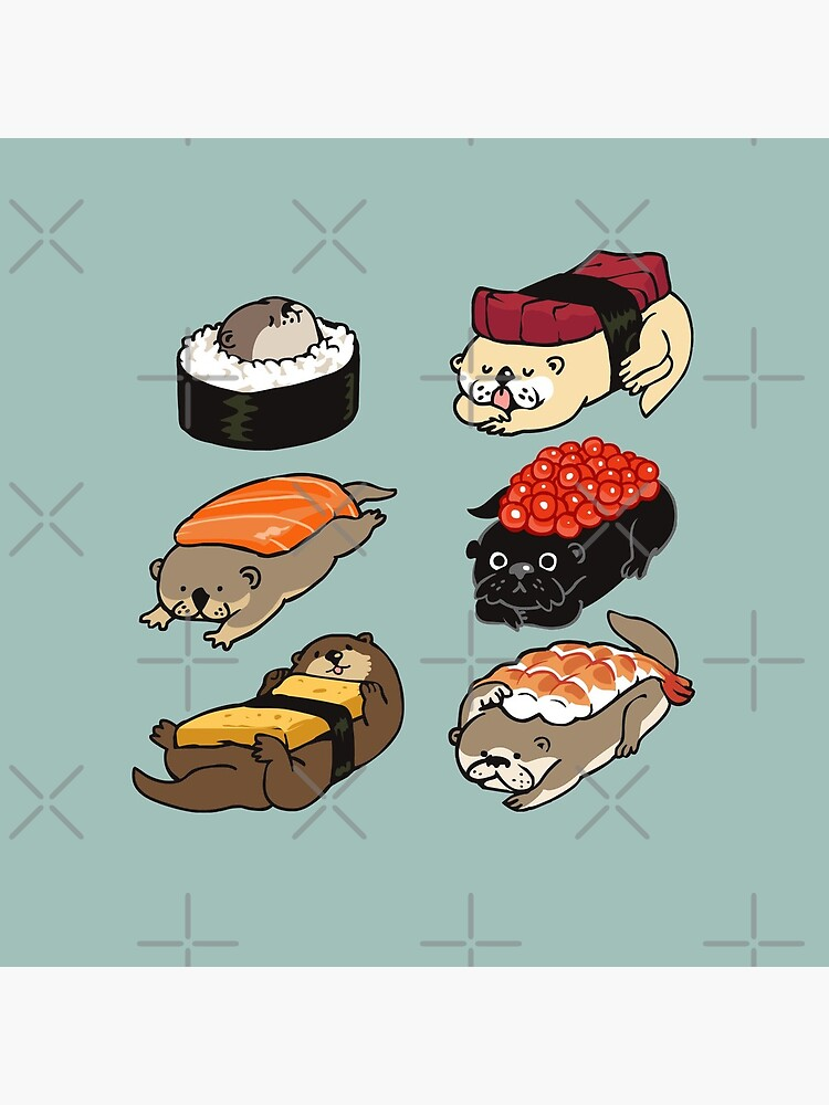 Sushi Otter by Huebucket