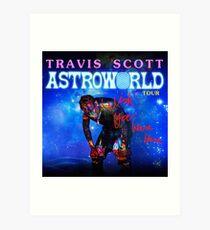 travis astroworld tour 2019 2020 boyolali Art Print