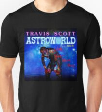 travis astroworld tour 2019 2020 boyolali Slim Fit T-Shirt