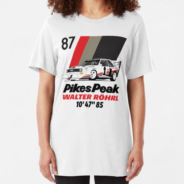 Walter Rohrl 1987 Slim Fit T-Shirt
