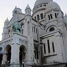 Sacre Coeur in Paris by Darrell-photos